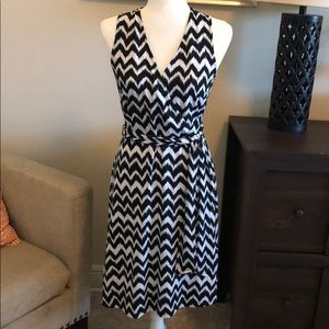 INC Chevron Dress